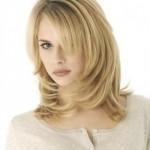 Прически для средних волос