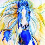 Чем порадовать Синюю Лошадь в новогоднюю ночь